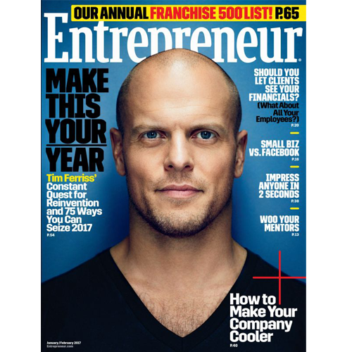 Entrepreneur Magazine: January/February 2017