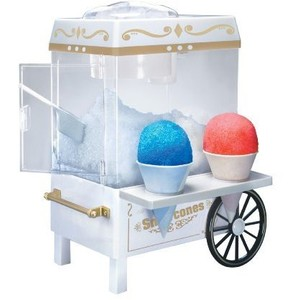 NOSTALGIA ELECTRICS SCM-502 VINTAGE COLLECTION OLD FASHIONED SNOW CONE MAKER (RENT TO OWN)