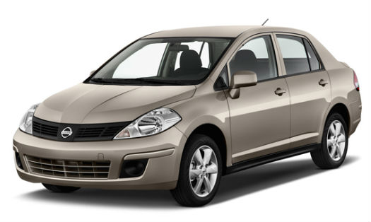 Nissan Tiida (Car Rental)