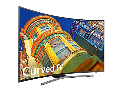 "Samsung 55"" Smart Curved LED 4K UHD 60Hz (Rent to Own)"