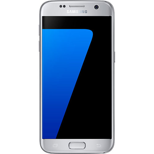 Samsung Galaxy S7 32GB Silver Smartphone (Factory Unlocked) (Rent to Own)