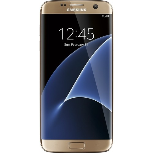 Samsung Galaxy S7 Edge 32GB Gold Smartphone (Factory Unlocked)