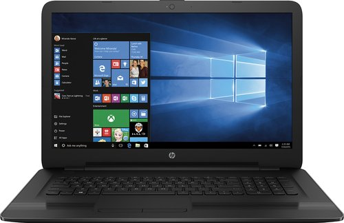 "HP Notebook 17-X121DX 17.3"" HD LED, Intel 7th Gen i5 Laptop"