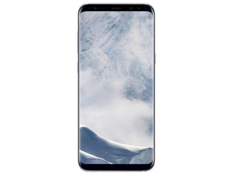 Samsung Galaxy S8 64GB Unlocked Phone (Arctic Silver) (Rent-to-Own)
