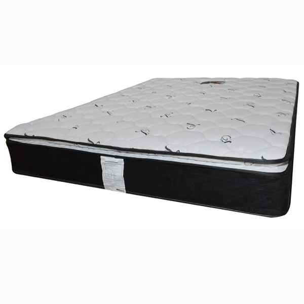 MaxSonic Pillow Top Continuous Spring Mattress (FULL) (Rent-to-Own)