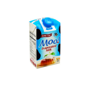 MOO LOW FAT EVAPORATED MILK 250ML