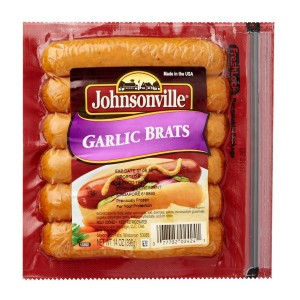 JOHNSONVILLE GARLIC BRATS 396G