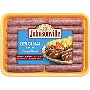 JOHNSONVILLE ORIGINAL RECIPE BREAKFAST SAUSAGE 340G