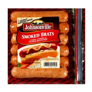 JOHNSONVILLE SMOKED BRATS 396G