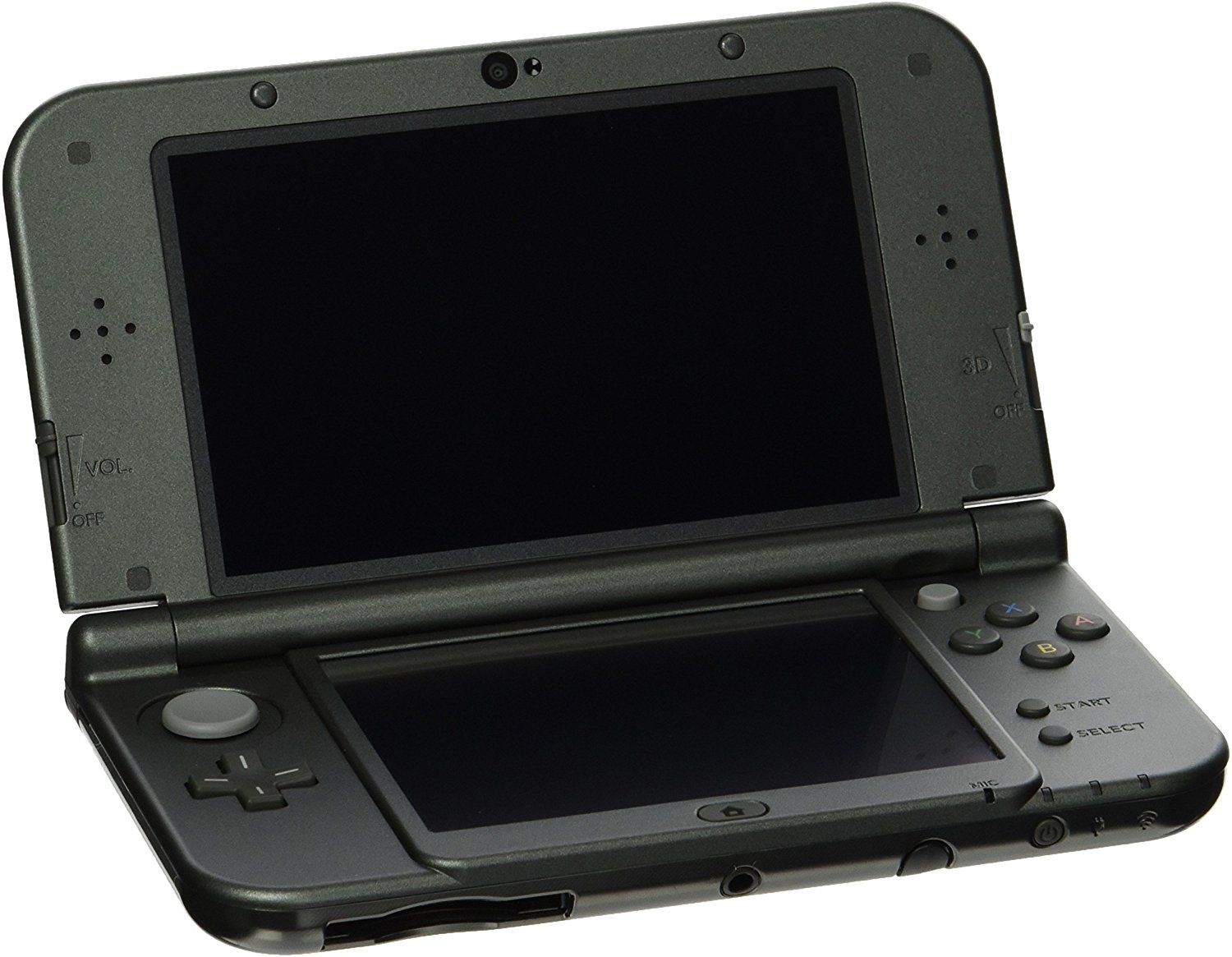 New Nintendo 3DS XL Black- With 4 3DS games (Rent to Own)