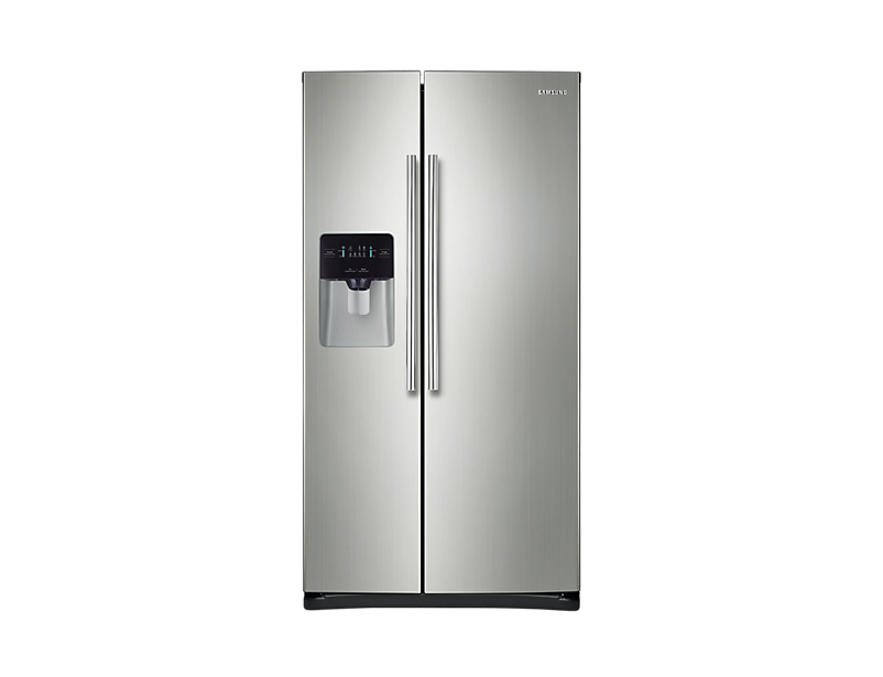 SAMSUNG 26 cu. ft. Side-By-Side Refrigerator with LED Digital Display