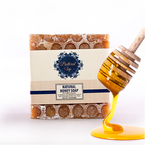 Buttered Up Natural Honey Soap