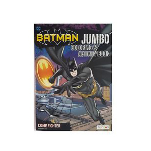 Bendon Batman Jumbo Colouring & Activity Book - Crime Fighter