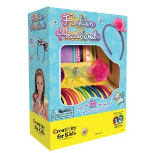 Creativitiy for Kids - Fashion Headbands Kit - Educational Toys