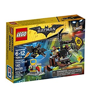 LEGO BATMAN MOVIE Scarecrow Fearful Face-Off 70913 Building Kit