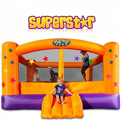 Superstar Inflatable Party Moonwalk (Bouncy Castle) (5 Hours) (Rental)