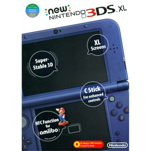 Nintendo 3DS XL Metallic Blue- With 50 Games