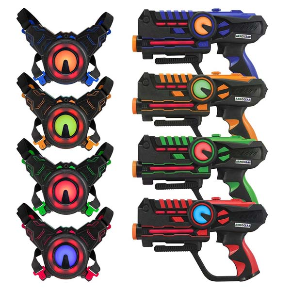 Laser Tag Infrared Battle Game - EXTREME Pack (RENT - 5 Hours)