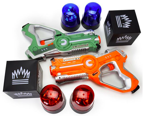 Laser Tag Infrared Battle Game - CAPTURE THE FLAG Pack (RENT - 5 Hours)