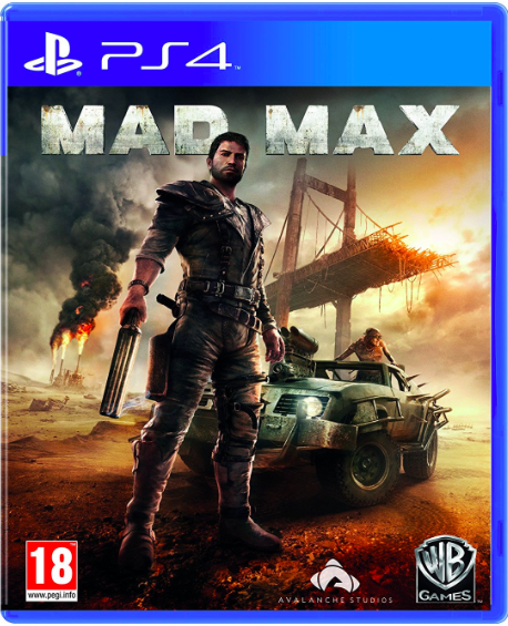 Mad Max - Playstation 4  (PS4) (rental)