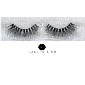 Valene & Co. Premium Mink Eyelashes - Style - Chanel