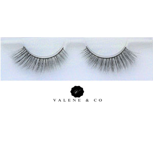 Valene & Co. Premium Slik Eyelashes - Style - Natural Eyes