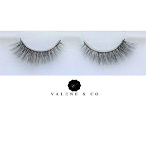 Valene & Co. Premium Slik Eyelashes - Style - Natural Winged Eyes