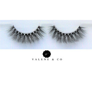 Valene & Co. Premium Slik Eyelashes - Style - Fluffed Up Eyes