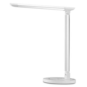 TaoTronics LED Desk Lamp, Eye-caring Table Lamps, Dimmable Office Lamp with USB Charging Port, Touch Control, 5 Color Modes