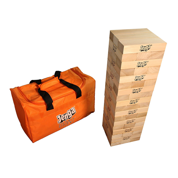 Jenga Giant Hardwood Game (Stacks to 5+ feet.) (Rental - 6 Hours)  (RENT)