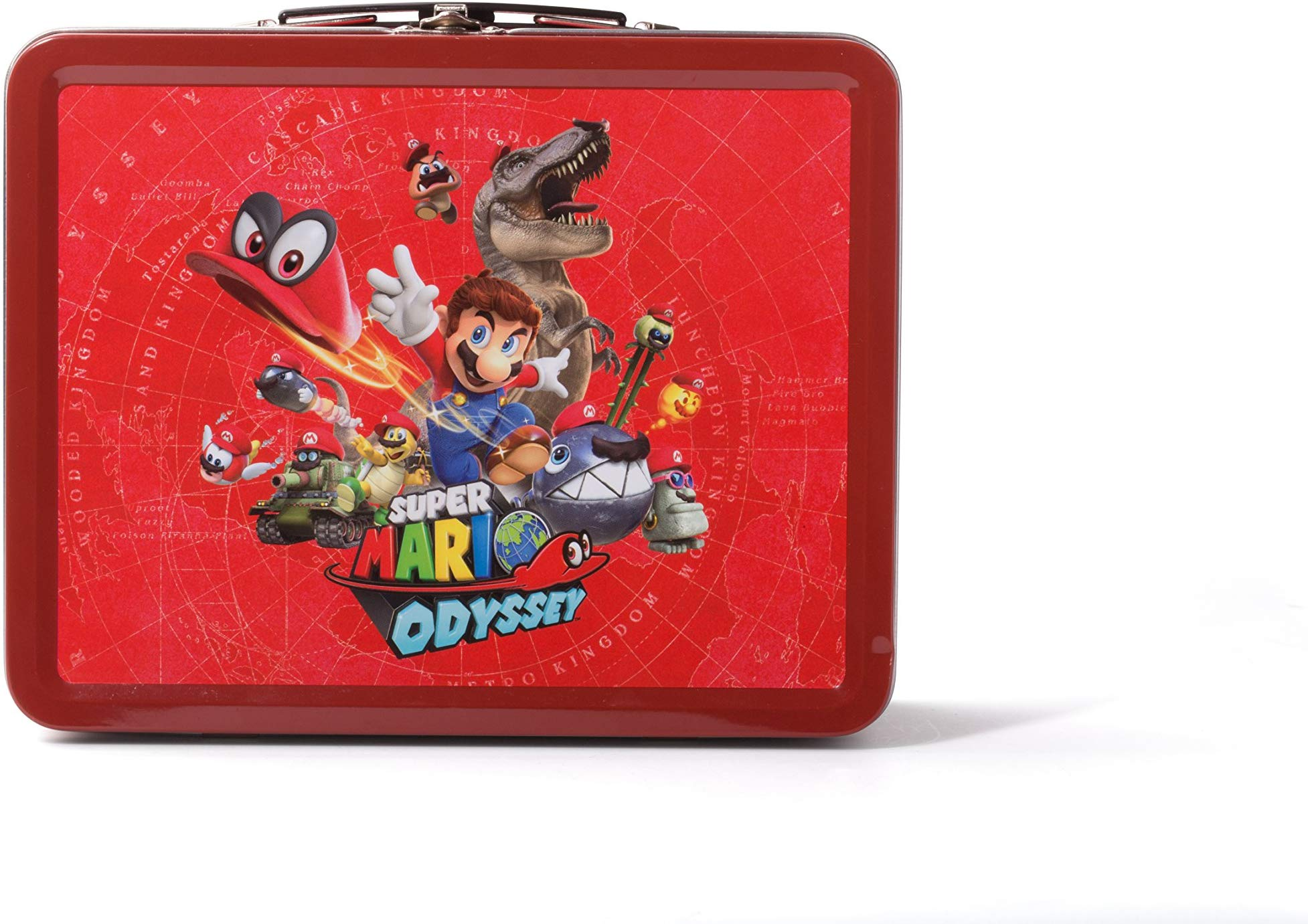Nintendo Switch Collectible Lunchbox Kit Super Mario Odyssey – Character Splash