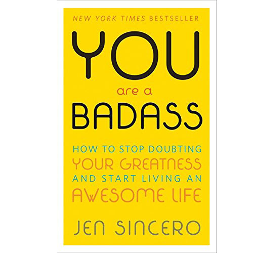 YOU ARE A BADASS IS THE SELF-HELP BOOK FOR PEOPLE WHO DESPERATELY WANT TO IMPROVE THEIR LIVES BUT DON\'T WANT TO GET BUSTED DOING IT. (RENT)