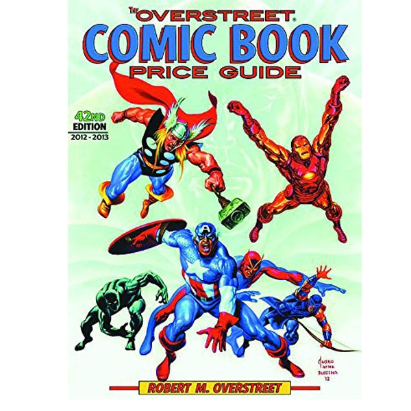 The Overstreet Comic Book Price Guide, 42nd Edition (RENT)