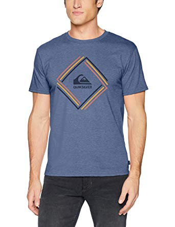 MEN MODERN FIT QUIKSILVER T-SHIRT
