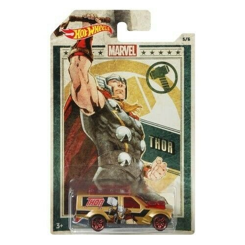 Hot Wheels Marvel Thor Die-Cast Car [Time Shifter]