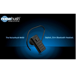 NoiseHush N450 Professional Bluetooth Headset