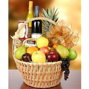 Gift Basket (Medium Mixed - Fruit/Non Perishable)