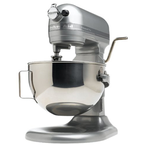 KitchenAid Professional 5 Plus 5-quart Contour Silver Stand Mixer KV25GOXSL