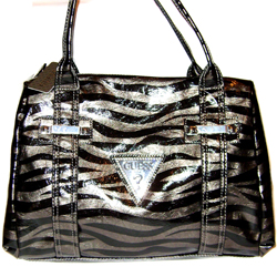 GUESS Wild Candy Handbag, Pewter