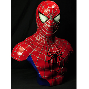 "SPIDER-MAN 1:1 Life-Scale Bust STATUE (21"")"