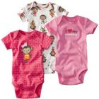 JUST ONE YOU Made by Carter's � Infant Girls 3 Pack Bodysuit Set - Pink