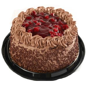 "Kiss Treats - 9"" Black Russian Cake"
