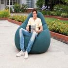 Intex Deluxe Beanless Bag Chair, classic teal