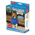 As Seen on TV Blue Snuggie for Dogs ™ Fleece Throw – Large