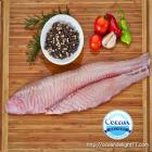 WHITE FISH FILLETS WILD CAUGHT 3-6OZ (5 LBS)