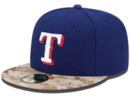 Texas Rangers Fitted Hat 7 1/4