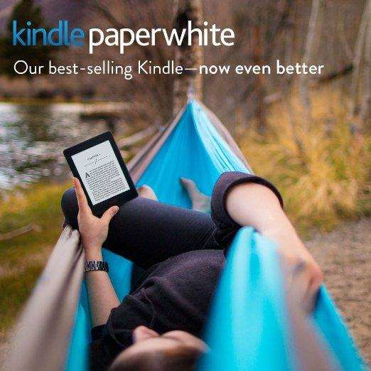 "Kindle Paperwhite E-reader - Black, 6"" High-Resolution Display (300 ppi) with Built-in Light, Wi-Fi (Rent to Own)"