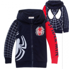 Kids Spider-Man Zip Up Hoodies