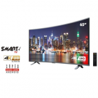 "Sankey 65"" Curved LED Smart TV (Rent to Own)"