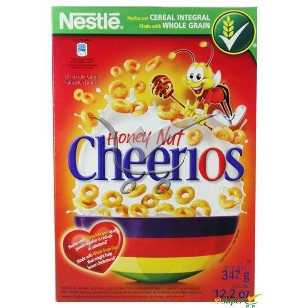 NESTLE CHEERIOS HONEY NUT 347G